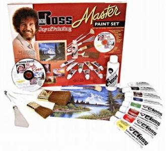 Bob Ross Master Set - Ideal to get you started.